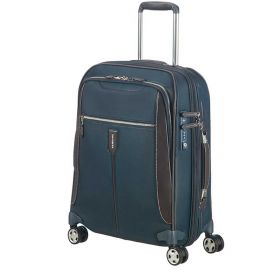 TROLLEY CABINA SAMSONITE GALLANTIS ESPANDIBILE BLU 55-20 SPINNER 20 CM