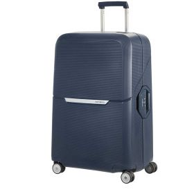 TROLLEY GRANDE RIGIDO SAMSONITE MAGNUM DARK BLUE 75-28 SPINNER