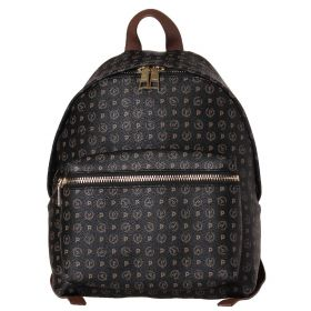 ZAINO DONNA POLLINI BACKPACK NERO + VIT. MARRONE TE8412 CO