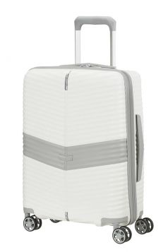 TROLLEY CABINA RIGIDO SAMSONITE DARTS WHITE 55-20 SPINNER