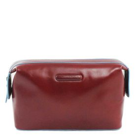 BEAUTY CASE UOMO / DONNA PIQUADRO BLUE SQUARE ROSSO BY3851B2/R CO