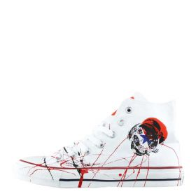 SCARPA UOMO CONVERSE CHUCK TAYLOR ALL STAR HI WHITE JAPAN 117