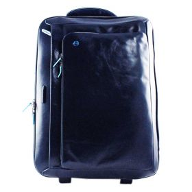 TROLLEY PIQUADRO DA VIAGGIO MORBIDA BLUE SQUARE BLU BV2960B2/BLU2 CO
