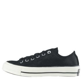 SCARPA DONNA CONVERSE CHUCK TAYLOR ALL STAR 70' CHEETAH PONY NERO 217