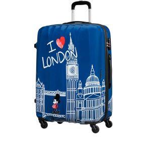 TROLLEY GRANDE AMERICAN TOURISTER DISNEY LEGENDS 75/28 TAKE ME AWAY MICKEY LONDON