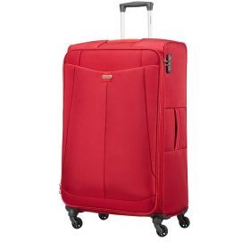 TROLLEY GRANDE AMERICAN TOURISTER ADAIR EXP CHERRY RED 81-31 SPINNER