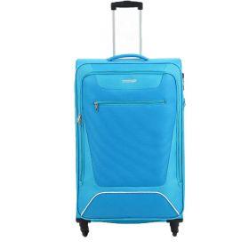 TROLLEY GRANDE AMERICAN TOURISTER HYPERBREEZ EXP LIGHT BLUE 81-35 SPINNER