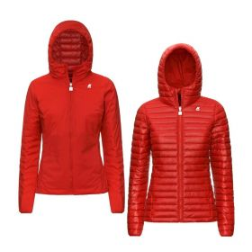 GIACCA DONNA K-WAY LILY THERMO DOUBLE K11198 RED VERMILLION 220