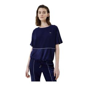 MAGLIA DONNA LIU JO BLUSA CON COULISSE DRESS BLUE TA1005 121
