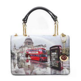 BORSA DONNA Y NOT? FLAP BAG LONDON RAINBOW YES471F2 221