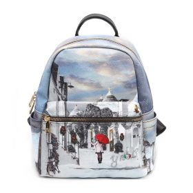 ZAINO DONNA Y NOT? BACKPACK SMALL WHITE PUGLIA YES380F2 221