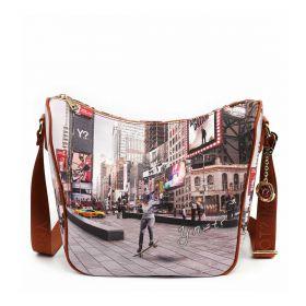 BORSA DONNA Y NOT? HOBO BAG NEW YORK SKATER YES606F2 221