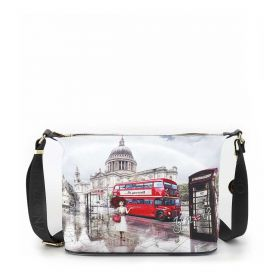 BORSA DONNA Y NOT? HOBO BAG LONDON RAINBOW YES607F2 221