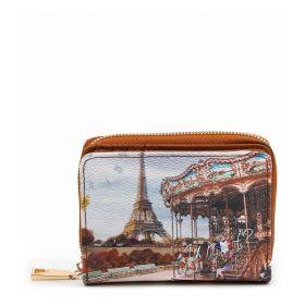 PORTAFOGLIO DONNA Y NOT? SMALL WALLET PARIS TRES JOLIE YES562F2 221