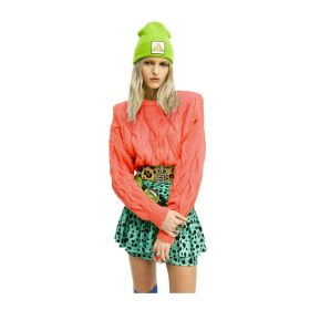 MAGLIONE DONNA ANIYE BY PULL MELLOW CORAL 181016 221