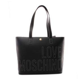 BORSA DONNA LOVE MOSCHINO SHOPPING BAG NERO JC4174 221