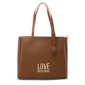 BORSA DONNA LOVE MOSCHINO SHOPPING BAG CAMMELLO JC4100 221