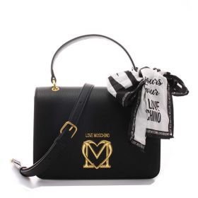 BORSA DONNA LOVE MOSCHINO HAND BAG CON TRACOLLA NERO JC4209 221