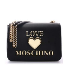 BORSA DONNA LOVE MOSCHINO CROSSBODY BAG NERO JC4054 221