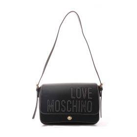 BORSA DONNA LOVE MOSCHINO CROSSBODY BAG MAXI LOGO NERO JC4175 221