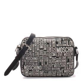 BORSA DONNA LOVE MOSCHINO CROSSBODY BAG LOGO NERO JC4160 221