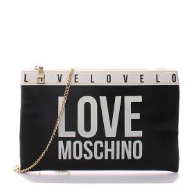 BORSA DONNA LOVE MOSCHINO POCHETTE BAG CON TRACOLLA NERO JC4185 221