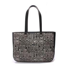 BORSA DONNA LOVE MOSCHINO SHOPPING BAG NERO JC4256 221