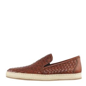 SCARPA UOMO FLORSHEIM SLIP ON POMPEI 1409 TAN WAVE 119