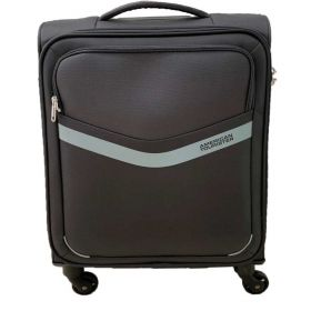 TROLLEY CABINA AMERICAN TOURISTER SPRINGWAVE BLACK/GREY 55-20 SPINNER