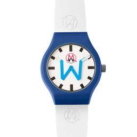 OROLOGIO UNISEX MADWATCH GINEVRA WHITE/BLUE 220