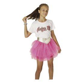 T-SHIRT KID ANIYE BY MAGLIETTA MATY GIRL GLOSS WHITE 115031 121