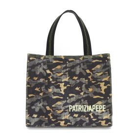 BORSA DONNA PATRIZIA PEPE SHOPPING CAMOUFLAGE 2VA060-AT84 121