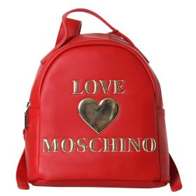 ZAINO DONNA LOVE MOSCHINO BACKPACK PU ROSSO JC4033 220