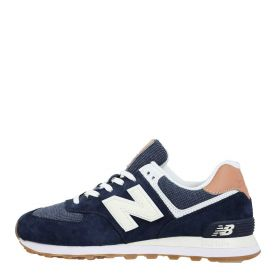 SCARPA UOMO NEW BALANCE SNEAKERS ML574TYA NAVY 220