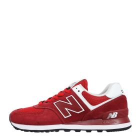 SCARPA UOMO NEW BALANCE SNEAKERS ML574SSO RED 220