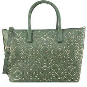 BORSA DONNA JOHN RICHMOND SHOPPING S PICCOLA MONOGRAM VERDE PWJ340012070 217