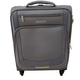 TROLLEY CABINA AMERICAN TOURISTER SUMMER SESSION GREY/LIME 55-20 SPINNER