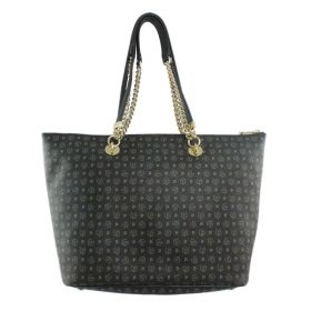 BORSA DONNA POLLINI SHOPPING BAG TAPIRO NERO TE8410 CO