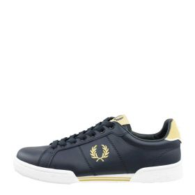 SCARPA UOMO FRED PERRY SNEAKERS BASSA IN PELLE B6202 NAVY 220