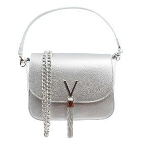 BORSA DONNA VALENTINO BAGS HAND BAG DIVINA ARGENTO VBS1R404 220