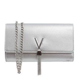 BORSA DONNA VALENTINO BAGS CROSSBODY DIVINA ARGENTO VBS1R401 220