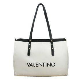 BORSA DONNA VALENTINO BAGS SHOPPING BAG L GRANDE GHIACCIO/NERO VBS4I201 220