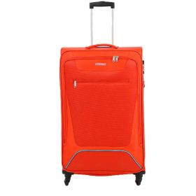 TROLLEY GRANDE AMERICAN TOURISTER HYPERBREEZ EXP RED 81-35 SPINNER