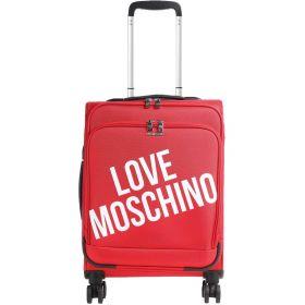 TROLLEY CABINA LOVE MOSCHINO NYLON ROSSO 4 RUOTE SPINNER JCB5100P 220