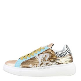SCARPA DONNA Y NOT? SNEAKERS PAILLETTES GOLD SKY YNI040011 220