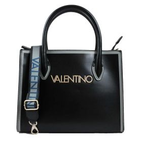 BORSA DONNA VALENTINO BAGS SHOPPING BAG MAYOR NERO/GRIGIO VBS4I401 220