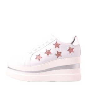 SCARPA DONNA GUESS SNEAKERS ZEPPA STARS WHITE 120