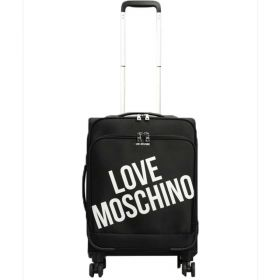 TROLLEY CABINA LOVE MOSCHINO NYLON NERO 4 RUOTE SPINNER JCB5100P 220