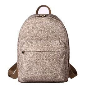 ZAINO DONNA BORBONESE BACKPACK NATURAL O.P. BEIGE 934105 CO