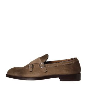 SCARPE UOMO DOUCAL'S MOCASSINO IN SUEDE DOUBLE BUCKLE BOKER DESERT RVIU06 121